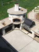 Mimmos Brick Pizza Oven